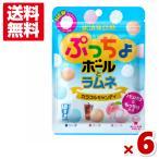 味覚糖 ぷっちょボールとラムネ 6入(ポイント消化) (np) メール便全国送料無料