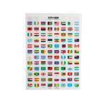クリアファイル 国旗 CFWF