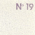 ショッピングキャンバス CLAESSENS 油彩専用 オイル キャンバス #19 麻・荒目 1.05×10m【メーカー直送・代引き不可】