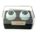 【人形の目 ビスクドール】 ビスクアイ グラスチック 青緑22mm 白目部分含む UV ※人形の目