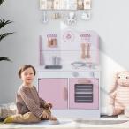 おままごと キッチン 知育玩具 木製 調理器具付き 国内食品衛生法規格試験に合格!お料理 クッキング おままごとキッチン
