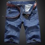 ショッピングデニム ショートパンツ メンズ デニム ハーフパンツ ゆたり カジュアル 涼しい 短パン ポケット多い 春夏 豊富なサイズ
