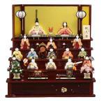 雛人形 五段飾り木目込み十五人揃 瑞花雛1318 幅70cm  3mk2 真多呂
