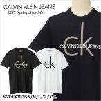 カルバンクライン Tシャツ 半袖 メンズ 綿100% CK プ