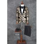 メンズスーツ  男性ステージ 舞台 コンサート衣装 カラオケジャケット 結婚式【送料無料】