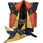 写真立てオルゴール付き五月陣羽織No.6 兜 鉢巻付 五月人形 祝い着 祝着 鎧飾り 兜飾り kabuto yoroi   kabuto-49