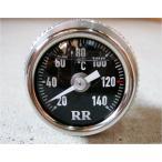 RR社 油温計/オイルテンプメーター   ゼファー W650 ゼファーχ VN400 VN800 Z1300用 黒/016