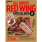 ALL ABOUT RED WING SPECIAL BOX *RED WING 純正シューケア用ブラシ付き