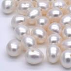 淡水パール ポテト 1粒 5~6mm 素材 パーツ ポイント消化 本真珠  素材 パーツ ハンドメイド