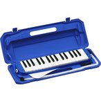 KYORITSU メロディーピアノ P3001-32K/BL(ブルー) ケース付 ..