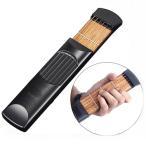ポケットサイズ 練習用ギター 6弦 4フレット 収納バッグ付き/P-GUITAR .