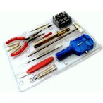 工具, 保養用品 - 時計工具セット(腕時計用工具16点セット) AC-W-KG16 .