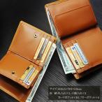 Igginbottom/イギンボトム 牛革二つ折り財布 ウォッシュドレザー IG-3150 キャメル .