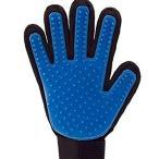 ペット用 グルーミング グローブ 手袋 ペットブラシ マッサージブラシ 抜け毛 毛取り ノミ取り 手入れ ブラシ TTH-001 .