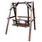 木製スイングベンチ OF-BRSI1211 10715 ベンチ ブランコ ガーデン スイングベンチ 木製