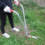 庭 ガーデニング 剪定用具 刈り込みばさみ 芝生・雑草刈り込みバサミセット FL-1658 芝生刈りはさみ 雑草刈りはさみ 剪定はさみ ハサミ 鋏 ガーデニング 庭 立っ