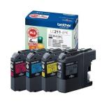 新品 ブラザー インクカートリッジ LC211-4PK 純正 4色セット 翌日・翌々日発送 数量限定