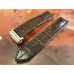 ハミルトン ベルト 時計 ジャズマスターセミスケルトン専用 交換用 腕時計バンド 牛革 22mm ブラウン(茶色) バックルつき HAMILTON H600425102
