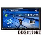 DDX6170BT DVD/CD/USB/iPod/Bluetoothレシーバー  MP3/WMA/AAC/WAV対応. ケンウッド