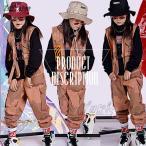 キッズ ダンス衣装 HIPHOP ヒップホップ ベスト ズボン 子供服 男の子 女の子 ガールズ ジャズダンス ステージ衣装 練習着 演出服