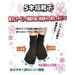 外反母趾用靴下、外反母趾サポーター【足裏安定5本指靴下】