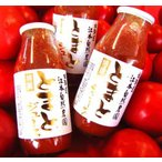 北海道産完熟トマトジュース無農薬(無塩・無添加)北海道江本自然農園160ml×3本