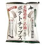 無添加ポテトチップス 北海道産こめ油で揚げたポテトチップス(うす塩味) 60g