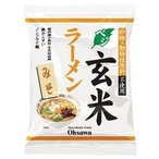 お得な箱買(送料無料)オーサワのベジ玄米ラーメン(みそ)118g(うち麺80g)【40袋・送料無料 箱売り】