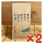 完全無農薬 玄米茶・有機JAS杉本園 粉末茶入り「玄米茶」【100g ×2個 送料無料・ネコポス便】