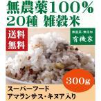 雑穀米二十穀 無農薬・無添加・有機 300g 送料無料