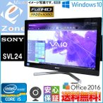 フルHD タッチパネル ウルトラブック Win10 Office2016 送料無料 SONY VAIO Tap 11 SVT1121A1J ブラック■極速Core i7 4610Y 4GB SSD256GB WiFi カメラ