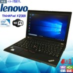 格安 中古パソコン Windows 10 12.5型 LENOVO ThinkPad X230i Intel Celeron 2GB 大容量320GB Kingsoft Office 送料無料 訳あり
