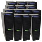全国送料無料 パソコン PC 光学ドライブ 1 TB の HDD とブルーレイ ディスク produplicator 1 に 300 CD/DVD SATA デイジー チェーン デュプリケータ