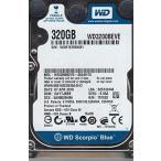 全国送料無料 パソコン ストレージ WD3200BEVE 00A0HT0DCM DAYTJBBB西部のデジタル 320 GB IDE の 2.5 インチのハード ドライブ
