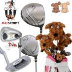 レディース MUスポーツ MU SPORTS ゴルフ ハーフ クラブセット 8本セット ヘッドカバー4点付 即納 初心者向き