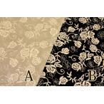 生地/YUWA/有輪商店/広幅綿麻レース 刺繍ローズ07/254819/50cm単品のみネコポス可