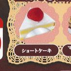 超精密 樹脂粘土 in ミニチュア ボトル ケーキ 2:ショートケーキ レインボー ガチャポン ガチャガチャ ガシャポン