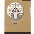 とーとつに エジプト神 缶バッジ 第1弾 7:ラー エフドットハート ガチャポン ガチャガチャ ガシャポン