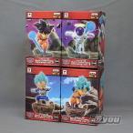 ドラゴンボール超 World Collectable Diorama vol.3 全4種セット バンプレスト プライズ