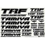 タミヤ TRFシリーズ No.146 TRFステッカーC (ミラーエッジ/ブラック) 42246