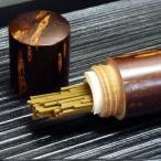 桜樺細工 携帯線香入れ 仏壇のそばに。お墓参りのおともに (秋田・湯沢から直送)