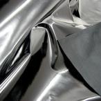○エナメル ブラック/21153-4BK [生地/布/洋裁/和裁/フォーマルドレス/舞台衣装]