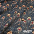 ○LIBERTY リバティプリント タナローン Peacock Feather/3331099-F[生地/布]