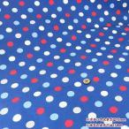 ○ルシアン ColorBasic 20オックス 15mm 水玉/4601-LZ[生地/布/カラフルドット/LECIEN/入園/入学]