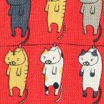 Yahoo!ユザワヤ【生地セール】 生地 『コットンこばやし綿麻キャンパス 洗濯ネコ 50cm カットクロスC-KTS6227-B』
