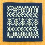 日本の伝統刺繍『こぎん』 初級向けのこぎんキットです。  ★難易度:初級 ★出来上がりサイズ:約縦1...