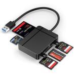 SD カード リーダー USB 3.0 マイクロ SD カード リーダー TF/Micro SD/SD/MS/XD/CF メモリ