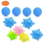 10個セット 洗濯ボール&乾燥機ボール ランドリーボール 洗濯ボール ソフナー ドライヤーボール 洗濯用品 繰り返し使用可能