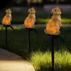 ガーデンライト ウサギ ソーラーパワー LED 太陽光発電 庭 デコレーション 芝生