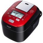 Panasonic 1.8L 〜1升 スチーム可変圧力IHジャー炊飯器 SR-SPX185-RK ルージュブラック 送料無料(沖縄県を除く)